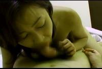 【人妻動画】巨乳奥様シリーズ☆チュウから始まり乳首舐めからフェラ!そして騎乗位挿入!最後は中出し!